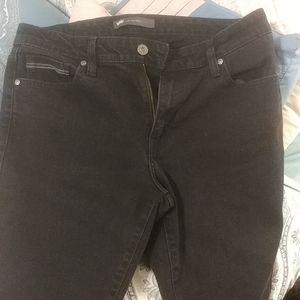 Levi's Mid Rise Women's Skinny Black 5 Put Jeans